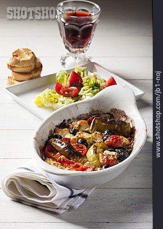 Feta Cheese, Casserole, Dinner