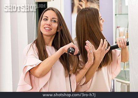 Hair, Hairdressing, Iron